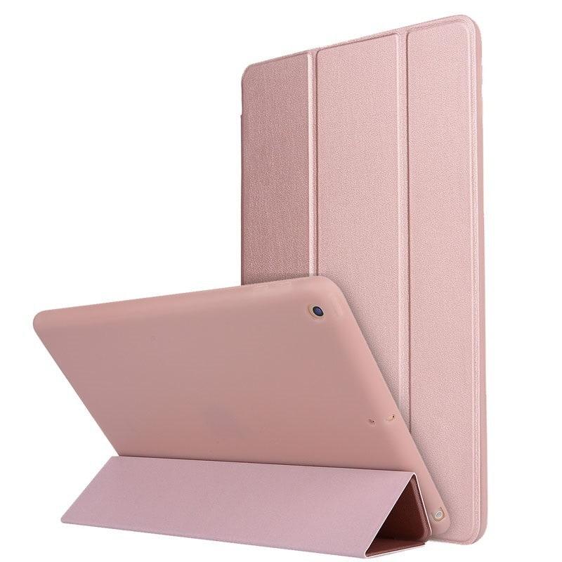 a0a9877a8ba4 Apple iPad Air /iPad 5 mágneses hajtogatós bőrbevonatos szilikon tok ...